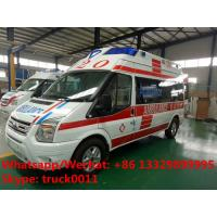 2017s best seller-FORD V348 diesel transit ambulance vehicle for sale, high quality and low price FORD diesEL ambulance Manufactures
