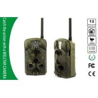 SMS MMS GSM GPRS Trail Cameras , 1080P HD Motion Detection Game Cameras Manufactures
