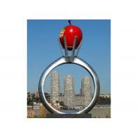 Park Garden Decoration Stainless Steel Modern Monumental Sculptures Manufactures