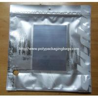 Metalized Silver Ziplock Foil Bag Pouches Manufactures