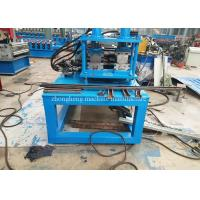 C U Lipp Channel Roll Forming Machine Two In One With Servo Motor Drive Manufactures