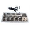 Buy cheap Black Ruggedized Industrial Metal Keyboard 116 Keys IP67 Waterproof With from wholesalers
