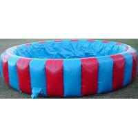 Customized Outdoor Inflatable Swimming Pool For Kids , PVC Tarpaulin Manufactures