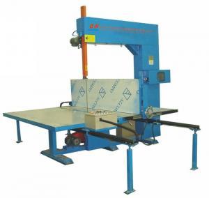 Manual Semi - Automatic EPE Vertical Foam Cutting Machine For Pillow / Foam Sheet Manufactures