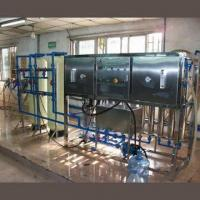 3,500L/Hour Industrial Water Purification System with Fiber Glass Sand Tank and Carbon Tank Manufactures