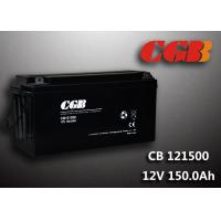 SLA CB121500 deep cycle 12v battery , 150AH Long Life Lead Acid Battery For EPS Manufactures
