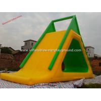 Quality Aqua Park Funny Inflatable Water Slide For Ocean / Sea , Commercial Grade 0.6mm for sale
