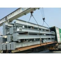 Hot Dip Galvanized Process Workshop Steel Structure For Office Manufactures