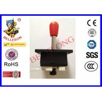 Red Arcade Machine Spare Parts Spain Style Arcade Game 4 Way Joystick Four Microswitches Manufactures