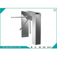 Semi Automatic Tripod Turnstile Security Systems, RFID Waist High Turnstiles Manufactures