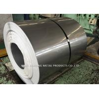 China Mirror Finish 201 Stainless Steel Coil / Steel Sheet Coil For Pipe Making on sale