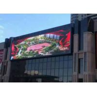 HD P6 Large Led Screen Panels Full Color / Advertising Led Outdoor Display Screen Manufactures