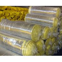 xcellent Fireproof Fiber Glass Wool Blanket With Aluminum Foil Clad Manufactures