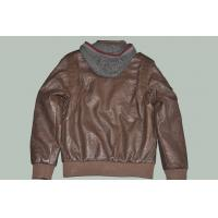 Black / Coffee and Designer Male, Size 50 Fitted Hooded Leather Jackets for Charm men Manufactures
