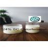 White liquid Chlorfenapyr 24% SC / CAS 122453-73-0 / C15H11BrClF3N2O Manufactures