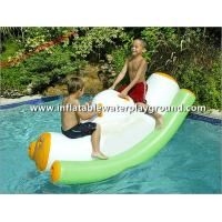Mini Fun Inflatable Water Totter , Pool Water Rocker For Kids Active Zone Manufactures