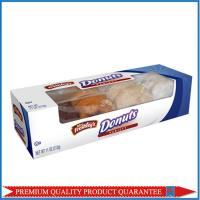 Clear Plastic Window Food Grade Paper Food Box for Donuts Packaging Manufactures