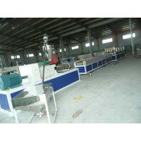 China 50HZ Full Automatic Plastic Profile Extrusion Line With Double Conical Screw on sale