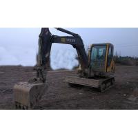 Quality Midi Used Volvo Excavator EC55 0.14cbm Bucket Capacity With Original Turbo for sale