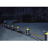 Electrically Operated Hydraulic Bollards / Automatic Rising Bollards For Driveways Manufactures