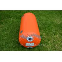 Quality Digital Printing Inflatable Buoys / Racing Buoy Cylindrical Shape For Advertisin for sale