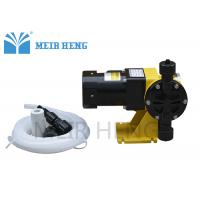 Chlorine Chemical Electric Diaphragm Pump Digital Single Or Three Phase High Accuracy Manufactures