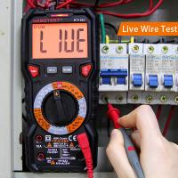 Professional Automatic Digital Multimeter 1000v With Input Jack LED Indicator Manufactures