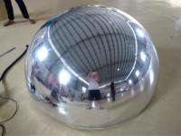 Semicircular Inflatable Disco Ball Novel Reflective Mirror Ball With Fireproof Manufactures