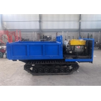 Mini Easy Operate Heavy Duty Track Transporter , 2 Ton 1 Ton Tracked Dumper Manufactures