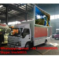Isuzu LHD mobile digital LED advertising vehicle for sale, 2017s best price P6 ISUZU brand mobile LED billboard truck Manufactures