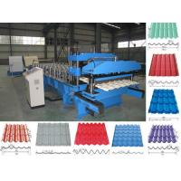 China Aluminium Roofing Sheet Roll Forming Machine on sale