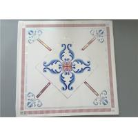 High Intensity White PVC Ceiling Tiles For Bathrooms Various Colors / Patterns Manufactures