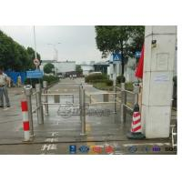 Club Portable Swing Barrier Gate Mechanism Electronic With Direction Indicator CE Approved Manufactures