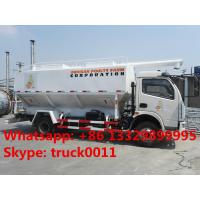 customized farm-oriented poultry feed truck with hydraulic discharging for sale, factory sale hydraulic 12m3 feed truck Manufactures