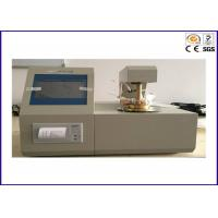 Tag Closed Cup Auto Flash Point Analyser, ASTM D56 Fire Testing Equipment Manufactures