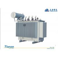 10 - 35 kv Oil Immersed Distribution Transformer 20 KV Three Phase Copper Winding Manufactures