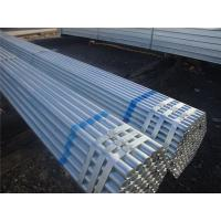 Hot Dipped Galvanized Carbon Steel Pipe Round With Q235 Material Manufactures