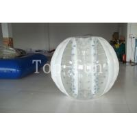 Multi-color 1.0mm PVC / TPU huge Inflatable Bumper Balls For Seaside / Playground Manufactures