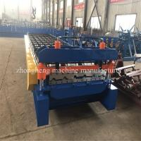 1000 Ibr Roof Sheet Cold Roll Forming Machine With High Speed Manufactures