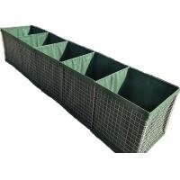 Buy cheap Galvanized Defensive Barrier , Hesco Defensive Barriers Multi Function from wholesalers