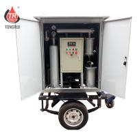 Single Stage Mobile Oil Treatment Plant High Vacuum Transformer Oil Filter Machine Manufactures