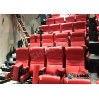Buy cheap Immersive 4D Cinema Equipment With Electric System And Customized Seats Number from wholesalers