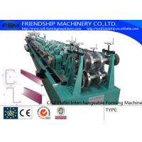 Efficiency C Z Purlin Rolling Form Machine Galvanized Steel High Speed Manufactures