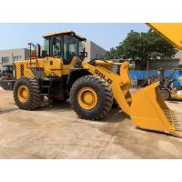 SDLG LG956L Second Hand Wheel Loaders For Manufacturing Plant , Construction Works Manufactures