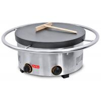 Gas Manual Rotary Crepe Maker Oven Pancake / 2800Pa 670*670*265mm Manufactures