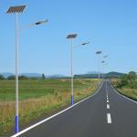 40W Aluminum Alloy Solar LED Street Light All In One Solar Sensor Street Lamp