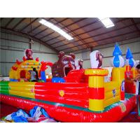 Unique Fireproof Inflatable Entrance Tunnel , Kindergardon Inflatable Sprot Game Castle Manufactures