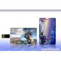Plastic USB Credit Card Flash Drive / Credit Card USB Storage Device Manufactures
