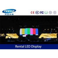 Synchronous P6 Rental LED Display Screen Wall IP43 , Stage Background LED Display Manufactures