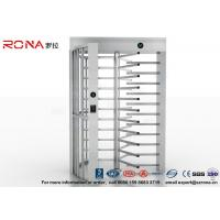 High Security Full High Turnstile Access Control Use for Prison With Stainless Steel Manufactures
